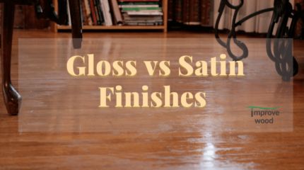 gloss and satin finishes