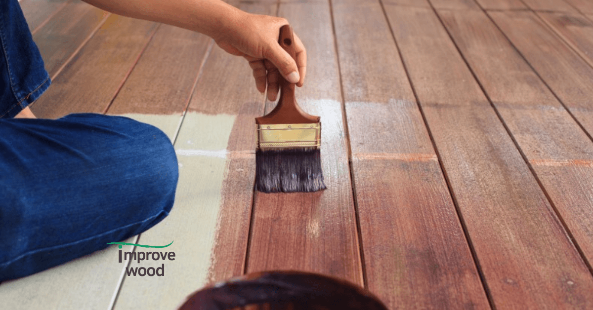 How to stain pressure treated wood