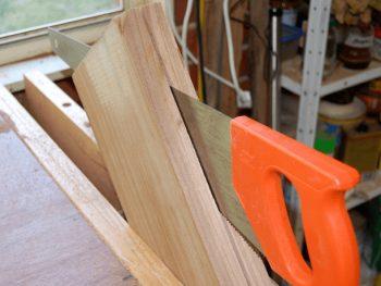 woodworking handsaw